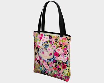 Shine Canvas Tote Bag