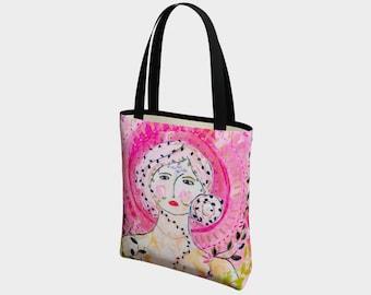 Devotion Canvas Tote Bag