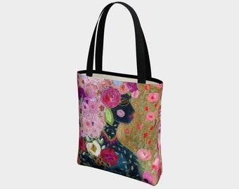 Rise Canvas Tote Bag