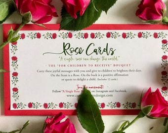 """Rose Cards: The """"For Kids To Receive"""" Collection"""