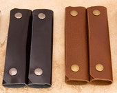 Leather Shopping Bag Handles (pair)