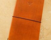 Leather Midori Traveller's Notebook Cover (Bull)