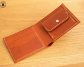 Gents Kangaroo Leather Wallet (Whisky)
