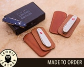 Swiss Army Knife Leather Slip Case (ALOX)