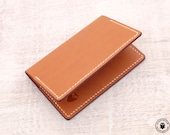 Leather Card Wallet (Cowboy Tan)