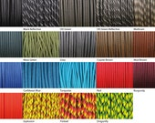 550 Paracord (Parachute Cord) - 19 Colours - USA Made (1m)