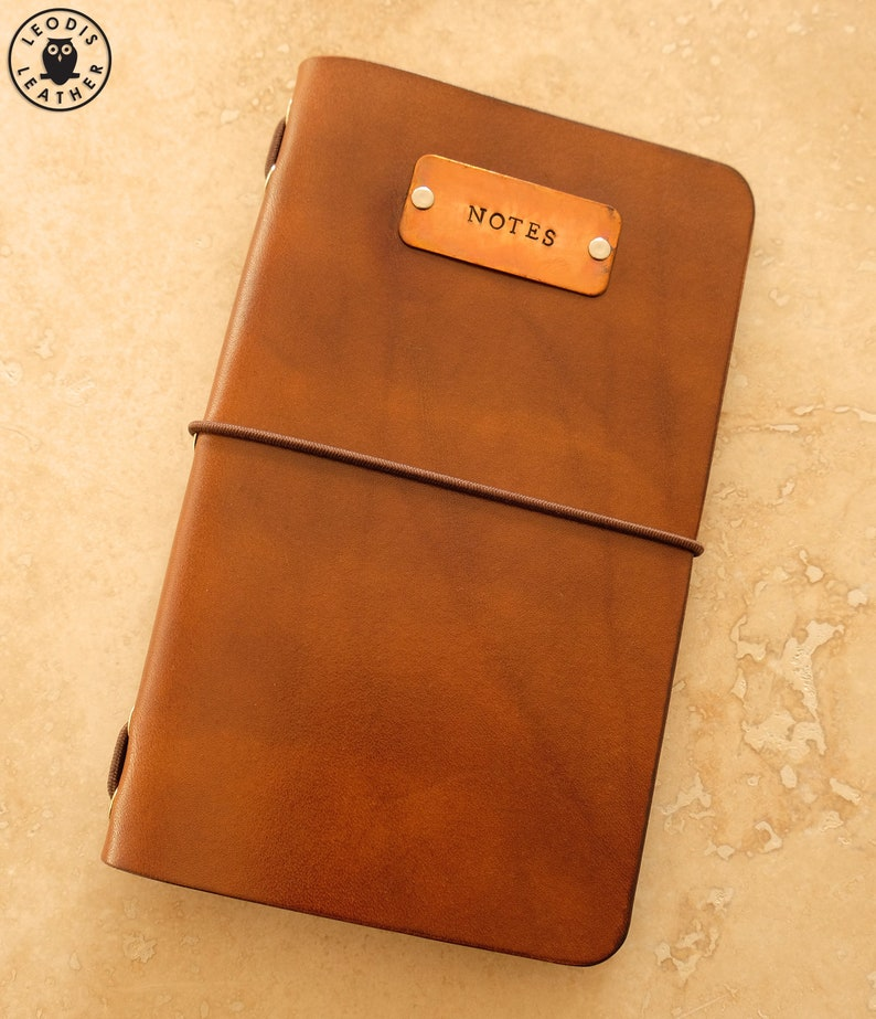 Leather Field Notes or Moleskine Cahier Notebook Cover with image 0