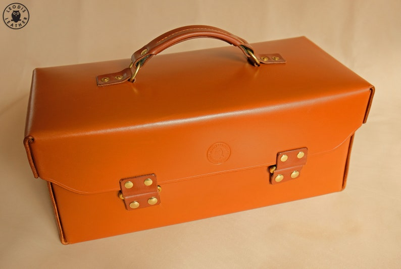 14 newton Leather Toolbox or Tote