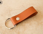 Leather Keyring (choice of colours including Horween)