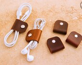 Leather Earbud or Cable Tidy