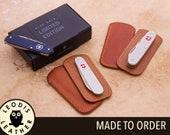 Swiss Army Knife Leather Slip Case (ALOX)