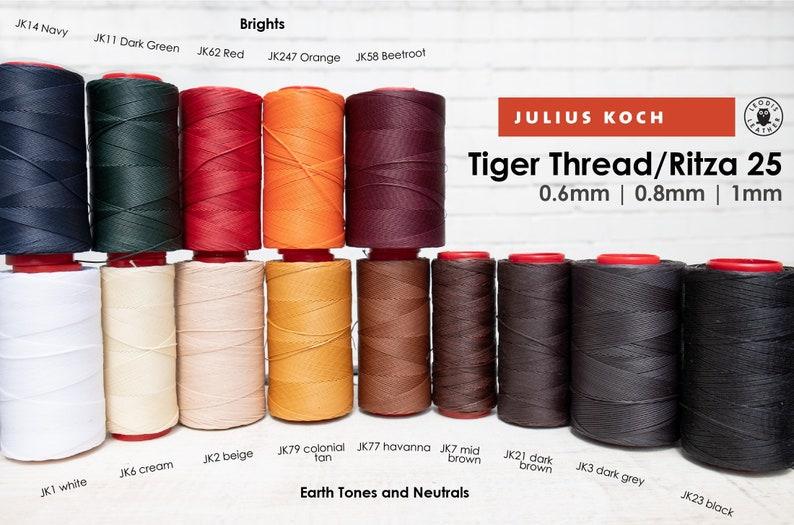 Tiger Thread / Ritza 25 for Leatherwork 20m image 0