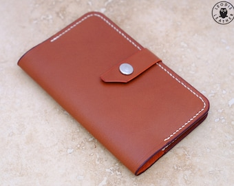 Leather Moleskine Extra Small Volant Cover (Rosewood Buffalo Calf)