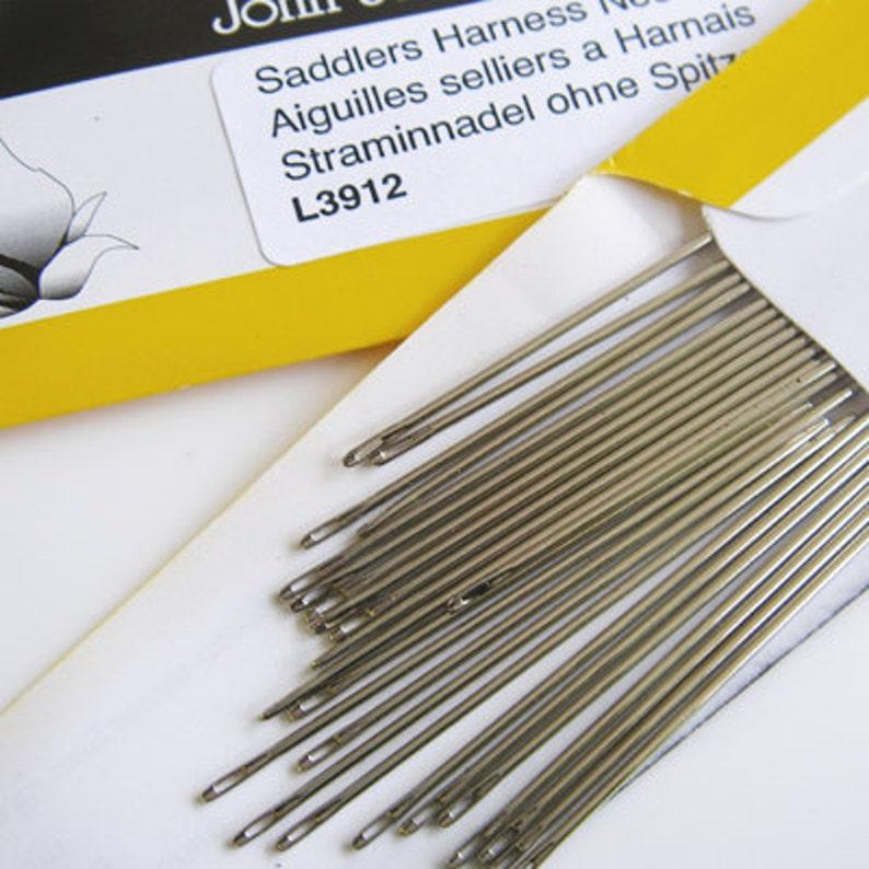 John James Saddler's Harness Needles pkt. 25 image 0