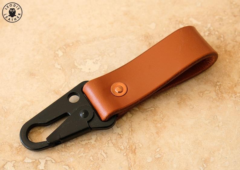 Leather Keyper or Key Piece Newton image 0