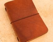 Leather Midori Passport Traveller's Notebook Cover (Spanish Brown)