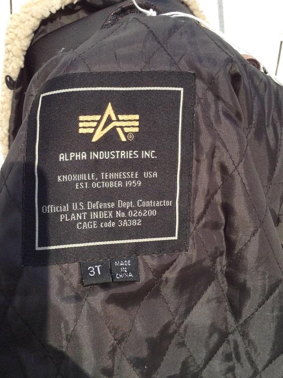Custom Painted Bomber Jacket, Childs Flight Jacket, Atomic Bomber Jacket, Fallout