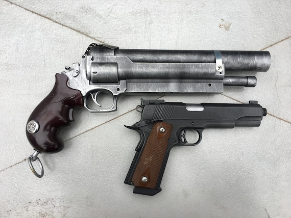 Steampunk/ Post Apocalypse Howdah Pistol, Hand Cannon, Prop Weapon