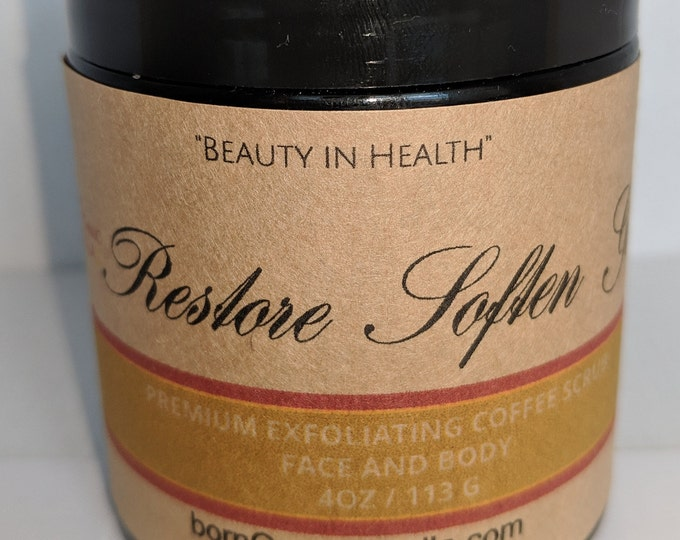 Coffee Exfoliating Scrub™ (4oz)
