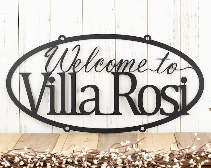 """Custom Metal Sign 
