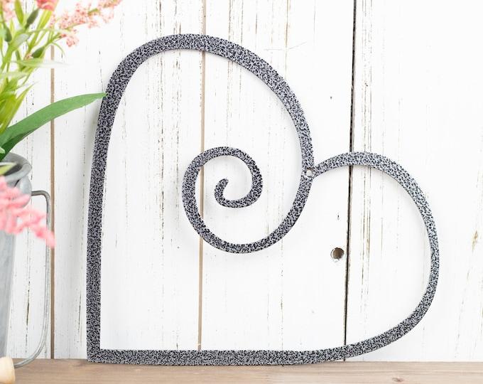 Heart Metal Wall Art | Wedding Decor | Valentine's | Valentines | Gift | Love Wall Art | Metal Sign | Outdoor Sign | Wall Art