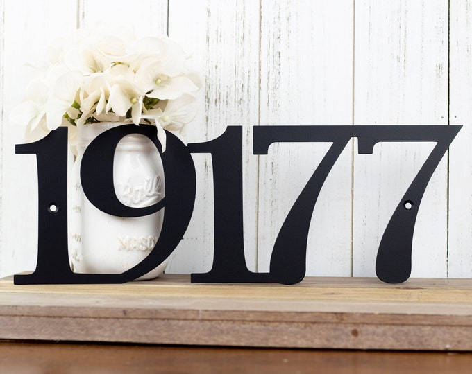 House Numbers Sign   Metal House Number   Custom Metal Sign   Address Sign   Address Plaque   Custom Sign   Outdoor Sign   5 Digit Only