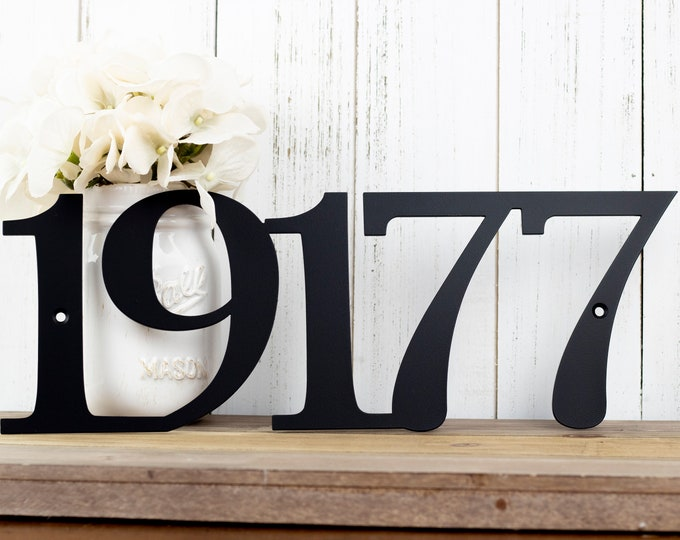 House Numbers Sign | Metal House Number | Custom Metal Sign | Address Sign | Address Plaque | Custom Sign | Outdoor Sign | 5 Digit Only