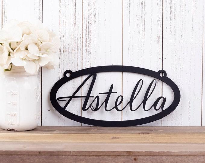 Custom Name Metal Sign | Metal Wall Art | Wall Hanging | Custom Sign | Personalized Gift | Name Sign |  Custom Metal Sign | Personalized