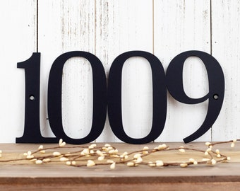 House Number Metal Sign | Metal Address Sign | Custom Metal Sign | House Numbers | Address Plaque | Address Sign