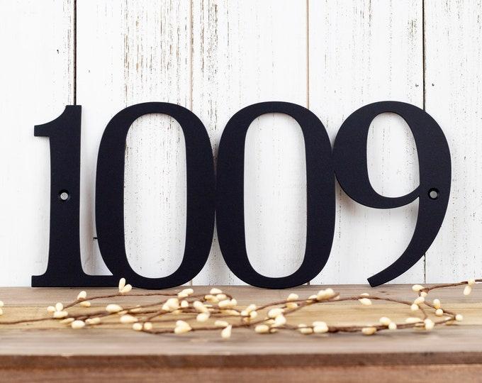 House Number Metal Sign | Metal Address Sign | Custom Metal Sign | House Numbers | Address Plaque | Address Sign
