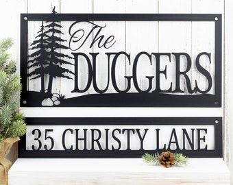 Name & Address Signs