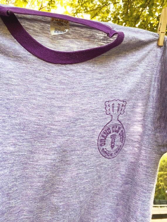 1970's Grand Ole Opry ringer t-shirt