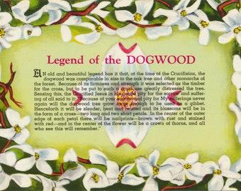 photograph regarding Legend of the Dogwood Tree Printable named Legend of dogwood Etsy