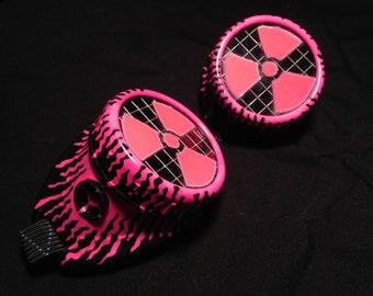 Cyber Goggles #G260UV Black & UV Pink