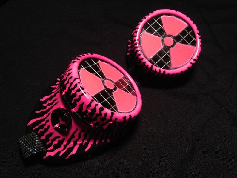 Cyber Goggles G260UV Black & UV Pink image 0
