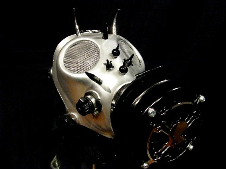 SUPER SALE M106 Chrome Gas Mask image 0