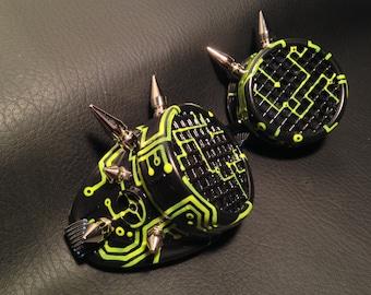 Cyber Goggles #G258UV Black & UV Yellow