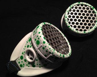 Cyber Goggles #G261UV White & UV Green