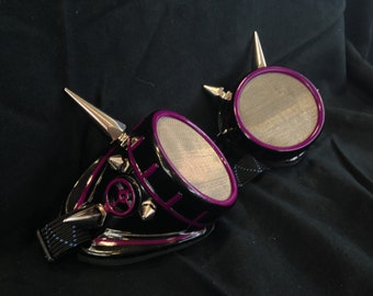 Cyber Goggles #G256UV Black & UV Purple