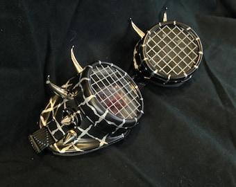 Cyber Goggles #G255 Black & Silver