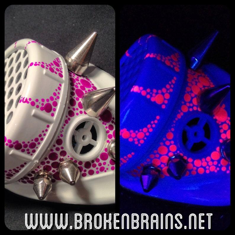 Cyber Goggles G251UV White & UV Purple/Pink image 0