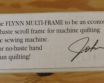 Flynn Multi Frame Quilting System New In Box