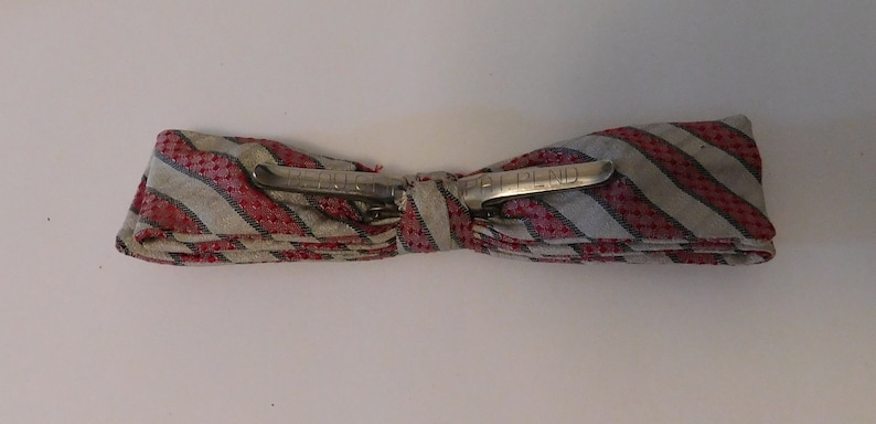 3 vintage Men/'s Clip On BOW TIES New York /& Beau Clip