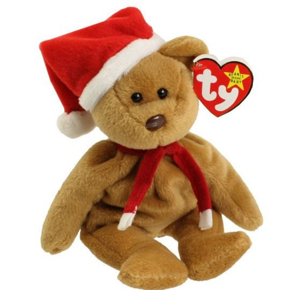 1997 Holiday Teddy - 4th Generation Ty Beanie Baby - Retired - 1996 - Mint  Condition 597c28efb9e0