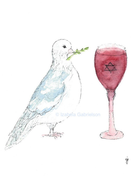 Passover peace passover greeting card blank a2 etsy image 0 m4hsunfo