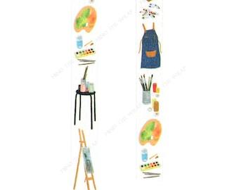 Art Supplies Washi Tape - 15mm x 7m - Painter Artist Art School Teacher Student - Scrapbooking Planners Decoration
