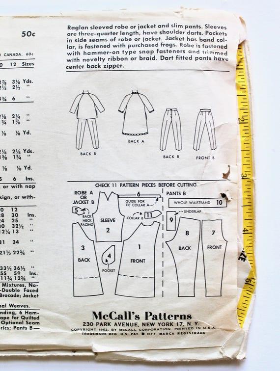 Vintage Nähen Muster der 1960er Jahre Mädchen Raglan Ärmel | Etsy