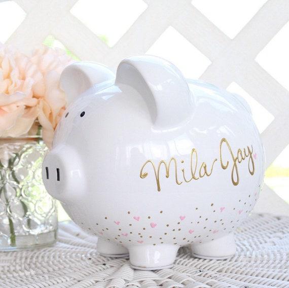 Personalised Piggy Bank