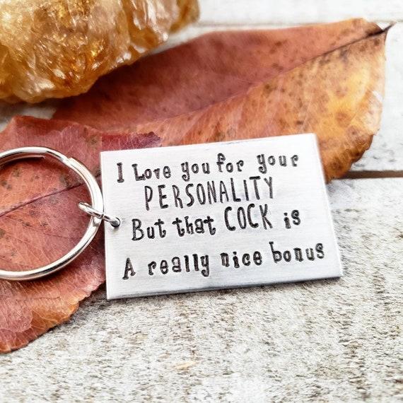 Funny Boyfriend Gift Funny Valentine/'s Day Gift Boyfriend Gift Funny Keychain .Bomb Dick Keychain Husband Gift Anniversary Gift