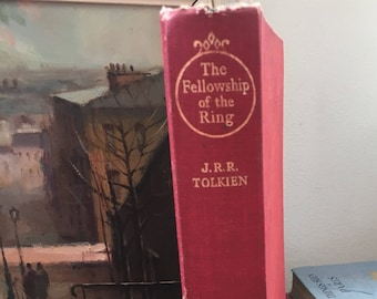 The Fellowship of the Ring J R R Tolkien First Edition Lord of the Rings